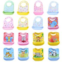baby stuff Baby bibs Detachable Kids Boys Girls Waterproof Feeding baby Apron Saliva Towel Bib Smock Burp Cloths Bandana Bibs(China)