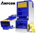 AMPCOM CAT6 Geschirmt RJ45 Modulare Stecker Stecker 8P8C Crimp Ende Ethernet Kabel Ethernet Stecker Gold-Überzogene 50U