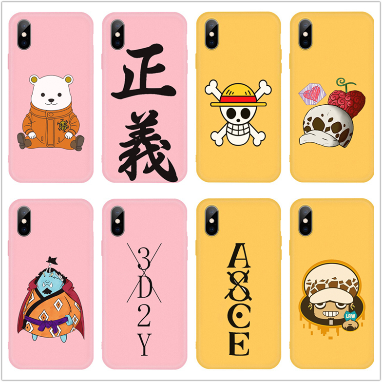 One Piece Phone <font><b>Case</b></font> Japan Anime Cartoon Luffy Zoro Coque For <font><b>Samsung</b></font> <font><b>A20</b></font> A30 A40 A50 A60 A70 S7 S8 S9 S10 PLUS <font><b>Funny</b></font> Soft Capa image