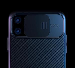 Image 2 - Pour iphone 11 pro étui max avec protecteur dobjectif de caméra étui en silicone dur pour apple iphone 11