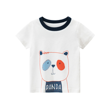 T-shirt Boys Shirts Children Short Sleeve Tops Kids Cartoon T-shirts For Girls Summer Shirt Kid Tshirt Boy Girl Clothes 2-8 T summer boy shirts boys tshirts girl short sleeve girls children kid clothes kids t shirts tshirt shirt tops for t shirt 3 10 t