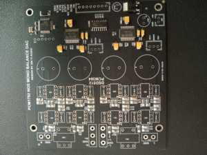 Semi-finished PCM1792 NOS Double and DSD512 Decoder Board Only SMT Components(China)