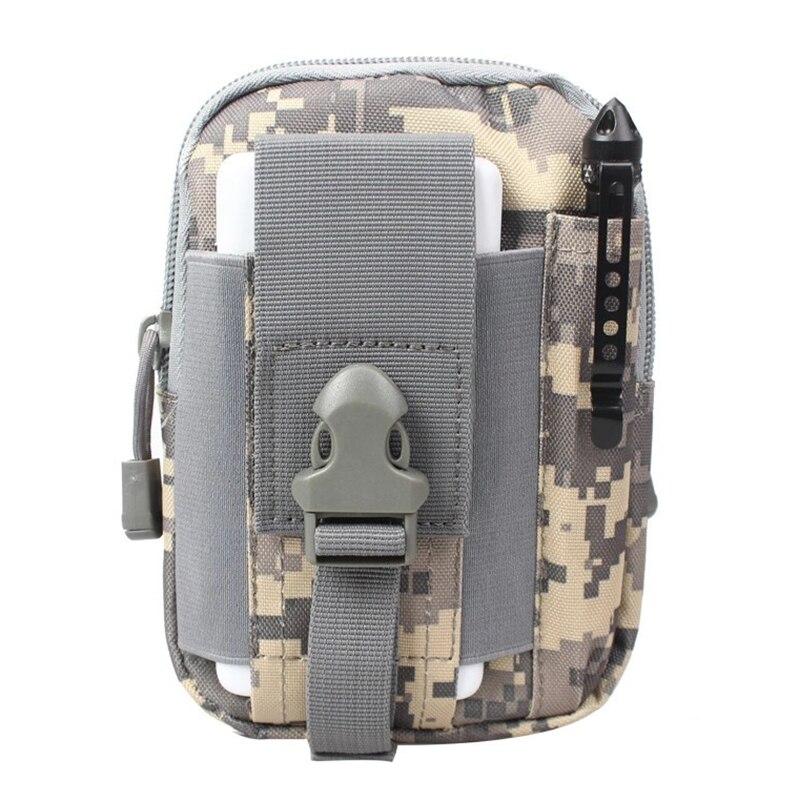 Men Waist Bag Canvas Fanny Pack Belt Phone Drop Leg Bags Military Zipper Waterproof Phone Waist Packs 6.8 inch Cellphone Bum Bag