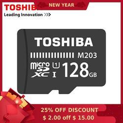 توشيبا بطاقة الذاكرة 128GB 64GB 32GB 16GB بطاقة مايكرو sd فئة 10 UHS-1 ذاكرة فلاش ميكروسد للهواتف الذكية/قرص 8GB الفئة 4