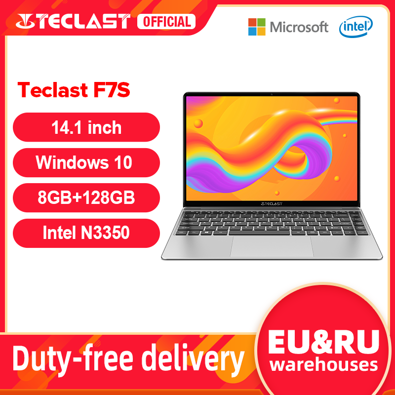 Laptop-pi-recente-Teclast-F7S-14-1-1920x1080-IPS-Notebook-8GB-RAM-128GB-ROM-Laptop-Windows Offerta Tablet e Notebook Cinesi: Offerte Aliexpress 11° Anniversario fino al 2 Aprile 2021