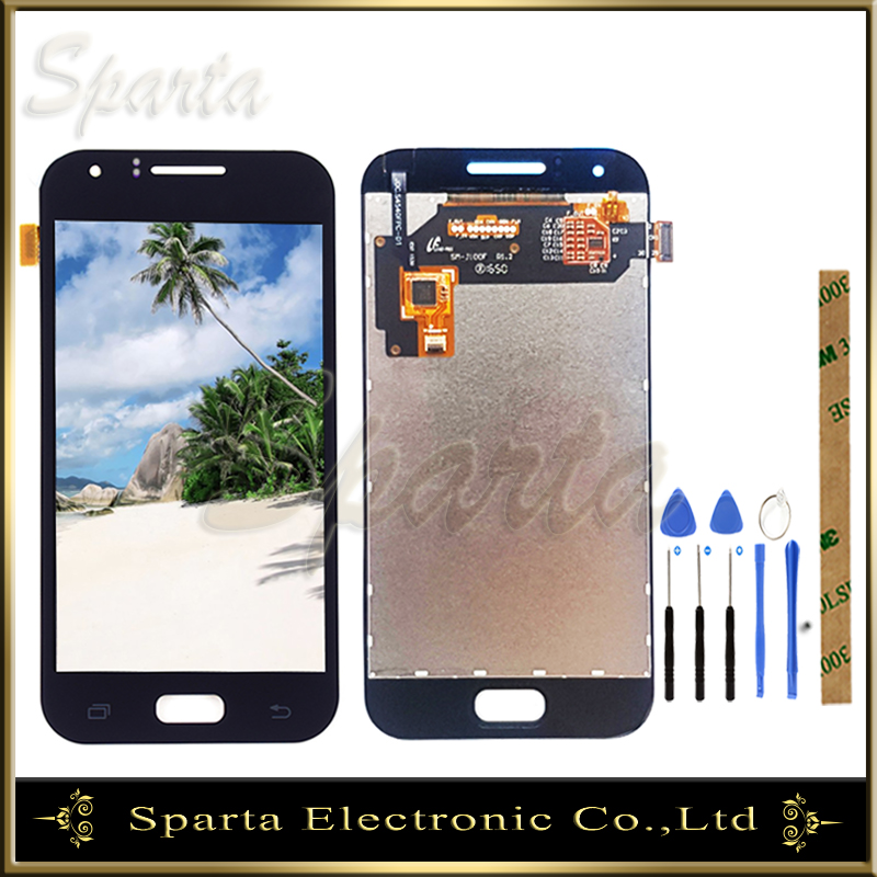Sparta New LCD <font><b>Display</b></font> For <font><b>Samsung</b></font> Galaxy J1 J100F <font><b>J100H</b></font> J100 SM-J100 LCD Screen With Touch Screen Sensor Digitizer Assembly image