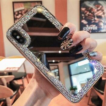 Перейти на Алиэкспресс и купить Чехол с кристаллами для Vivo X9 X9S X20 Plus X21 X23 X27 V5 V7 V9 V15 Y70 Y17 Y90 Y91C Y91i V11 V11i S1 S5 Pro