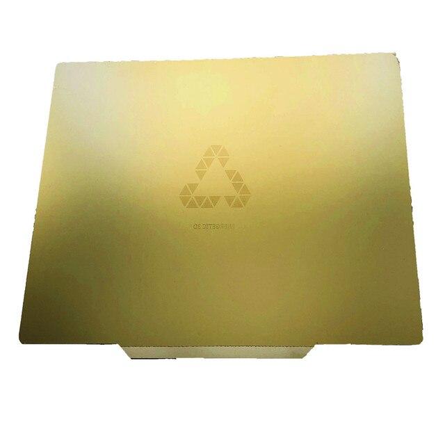 FLEXBED 3D Drucker Bauen Oberfläche, entfernung Frühling Stahl PEI Flexplatte 235x305mm für CR 20 Mini 3D Drucker Erhitzt Bett
