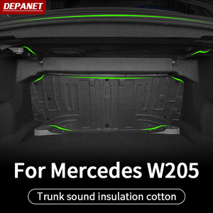 Front wheel sound insulation For Mercedes w205 amg/ interior trim c63 mercedes c class accessories w205 Mercedes amg
