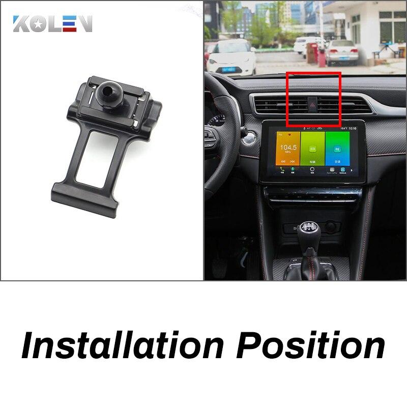 Купить автомобильный мобильный телефон с держателем для mg zs 2017