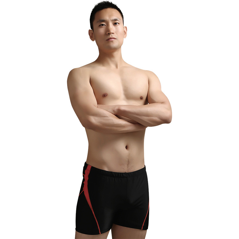 2020 New Style MEN'S Swimming Trunks Hot Selling Bathing Suit Swimming Trunks Hot Springs Large Size Loose Boxer Anti-Awkward