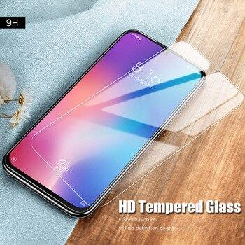 Перейти на Алиэкспресс и купить 9H Защитная пленка для экрана HD закаленное стекло для Poco F2 Pro M2 X2 F1 Celle Защитная пленка для телефона для Xiaomi Mi A3 A2 A1 Lite Hard
