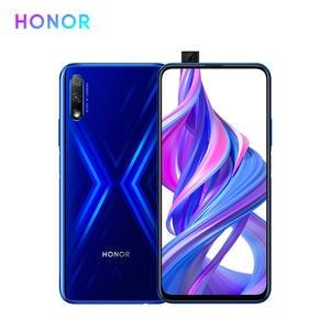 Huawei Hisilicon Kirin 810 Honor 9X Mobile-Phone 64gb 8gb CDMA/CDMA2000/WCDMA/.. Supercharge