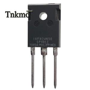 Image 5 - 10 قطعة IXFH24N50 IXFH24N50Q إلى 247 IXTH24N50 IXTH24N50Q IXTH24N50L TO247 24A 500V MOSFET واحد التوصيل المجاني