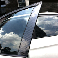 Car Pillar Decorative Sticker Decal Accessories For BMW Old 3 Series E90 05 12