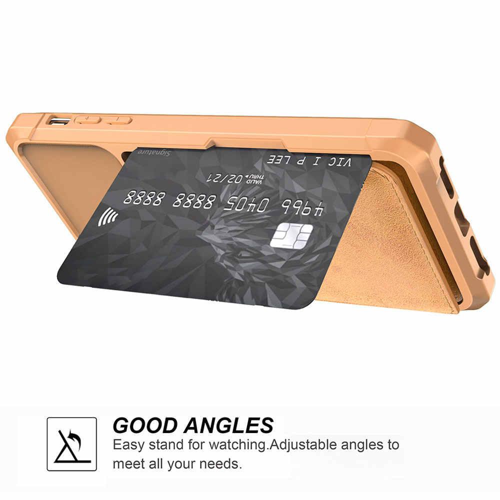 KISSCASE מגנטי כרטיס חריץ מקרה עבור iPhone 11 XR 11 פרו XS מקרה Flip עור ארנק מקרה עבור iPhone XS 11 פרו מקסימום 6s 7 8 כיסוי