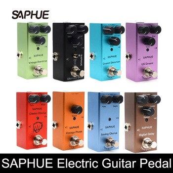SAPHUE-Pedal de guitarra eléctrica Vintage Overdrive, distorsión Crunch, US Dream, Coro clásico,...