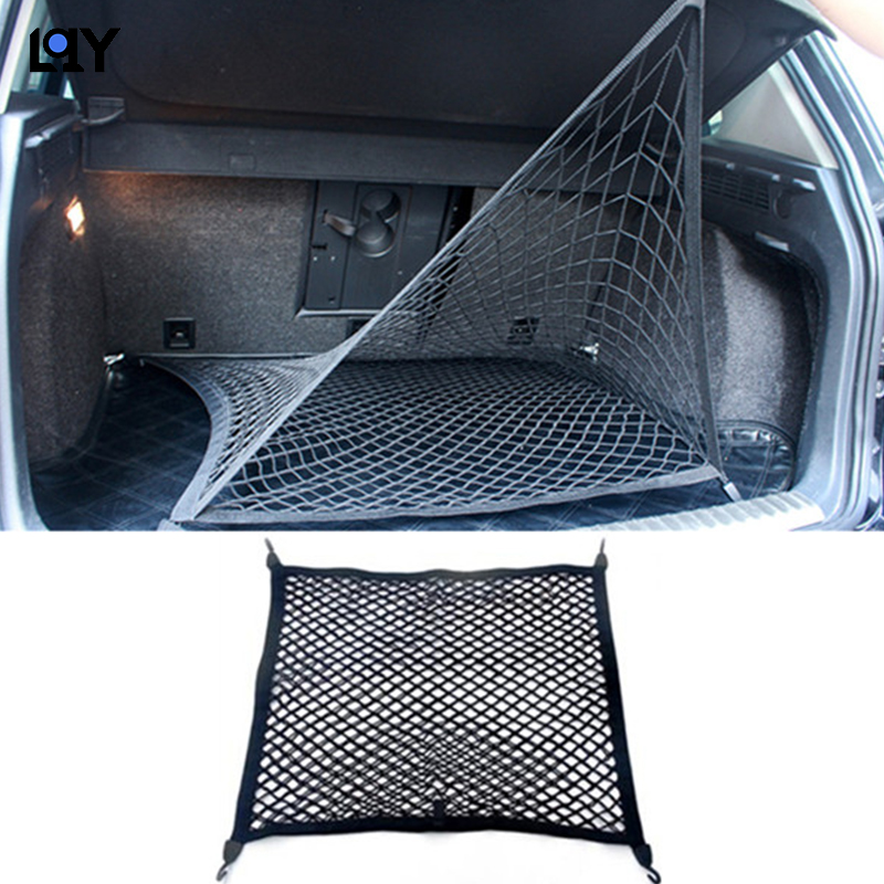 LQY car Luggage Nets Travel Pocket Car Organizer Car Trunk Net Oxford cloth Auto Cargo Storage Mesh Holder Universal For in Rear Racks Accessories from Automobiles Motorcycles