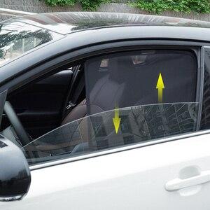 Магнитный автомобильный солнцезащитный козырек, солнцезащитный козырек с боковым окном для Toyota C-HR 2017 2018, солнцезащитный козырек для окон CHR...