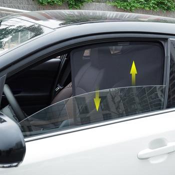 Magnetic Car Sun Shade Side Window Sunshade For Toyota C-HR 2017 2018 Window Curtain Visor Shield Solar Mesh Cover For CHR 2019