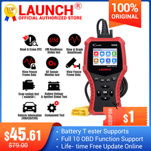 LAUNCH Creader CR3008 Auto OBD2 EOBD code reader scanner CR 3008 for Engine Multi language PK KW850 diagnostic tool