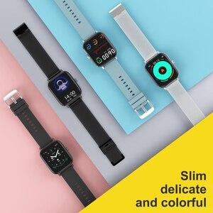 Image 5 - DT35 ساعة ذكية الرجال بلوتوث دعوة ECG 1.54 بوصة PK P8 GTS EH8 Smartwatch النساء ضغط الدم اللياقة البدنية ل أندرويد Ios شاومي