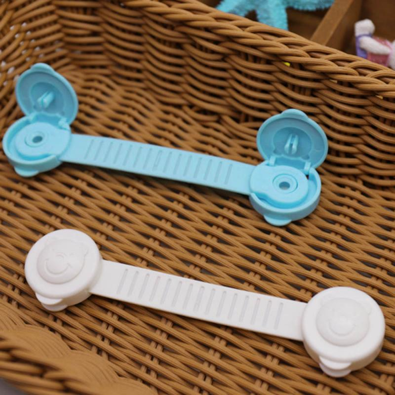 Multi-use Baby Drawer Lock Plastic Child Security For Cabinet Refrigerator Window Closet Toddler Safety Protector Safety 2