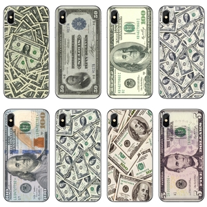 For iPhone 11 pro XR X XS Max 8 7 6s plus SE 5s 5c iPod Touch 5 6 cover case Money Dollars Bill Cash Ben Franklin(China)