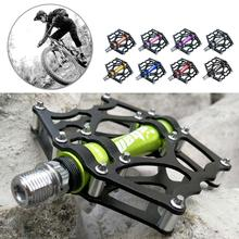 цена на Mountain bike road Bicycle Pedal Quick Release Pedal Anti-slip Ultralight Pedals 3 Bearings Pedale Bike Accessories