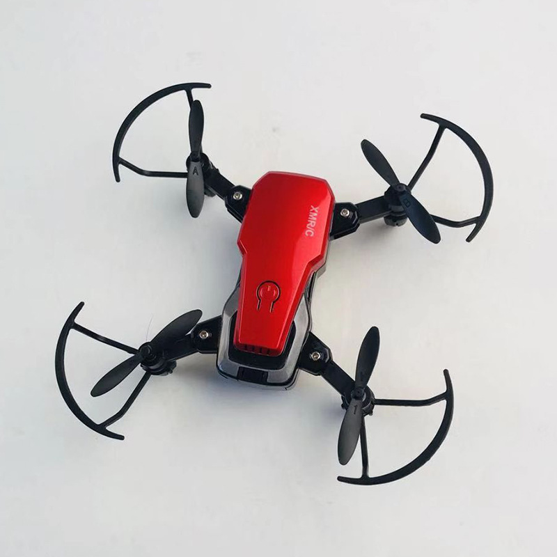 Mini Quadcopter 2.4G Folding Unmanned Aerial Vehicle Set High Aerial Photography Children Electric Remote Control Aircraft Model