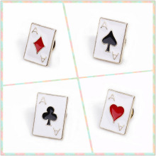 2019 Rushed Direct Selling Brooches Europe And The Big Poker Ace Metal Drip Wholesale Brooch With 2 Only For Collar Clip Cy002 ace lacewing bug detective the big swat