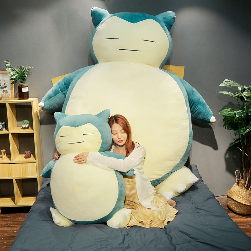 Plush-Toy Cover Snorlax Birthday-Gift Girlfriend Anime Large-Size with Zipper for New-Style