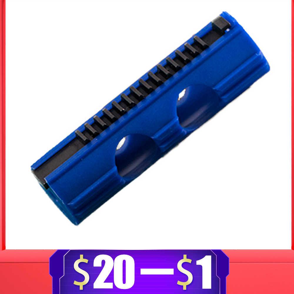 Pistão de carbono reforçado de plástico inteiro, 14 escada para airsoft aeg gel blaster ak m4 jiqu jinming9 ver2/caixa de engrenagens 3 g36