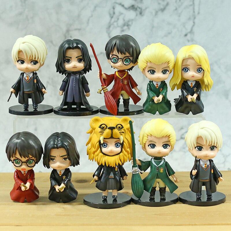 Q Posket – jouets figurines en PVC, Hermione Luna Granger Ron Weasley Draco Malfoy Severus Snape Q Version 5 pièces/et