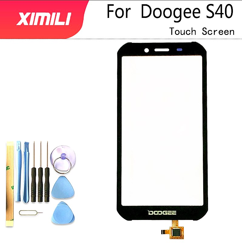 5.5'' Tested Well 100% Original  For Doogee S40 Touch Screen Digitizer Glass Replacement Doogee S40 Free Tools+3M