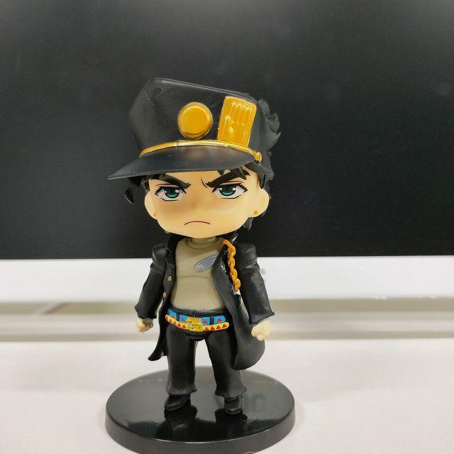 Random 1pcs Japan Anime Jojo Bizarre Adventure Figure Kujo Jotaro Figurine Josuke Kakyoin Action Figure Model Toy Randomly Sent 3