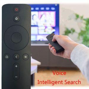 Image 5 - 블루투스 음성 원격 컨트롤러 ABS 플라스틱 적외선 원격 제어 Xiao mi Mi TV Box 14x4x2cm