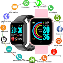 ساعة ذكية للتحكم في معدل ضربات القلب وضغط الدم للرجال والنساء ، عداد الخطى للتمرين ، Android و IOS ، من أجل اللياقة البدنية