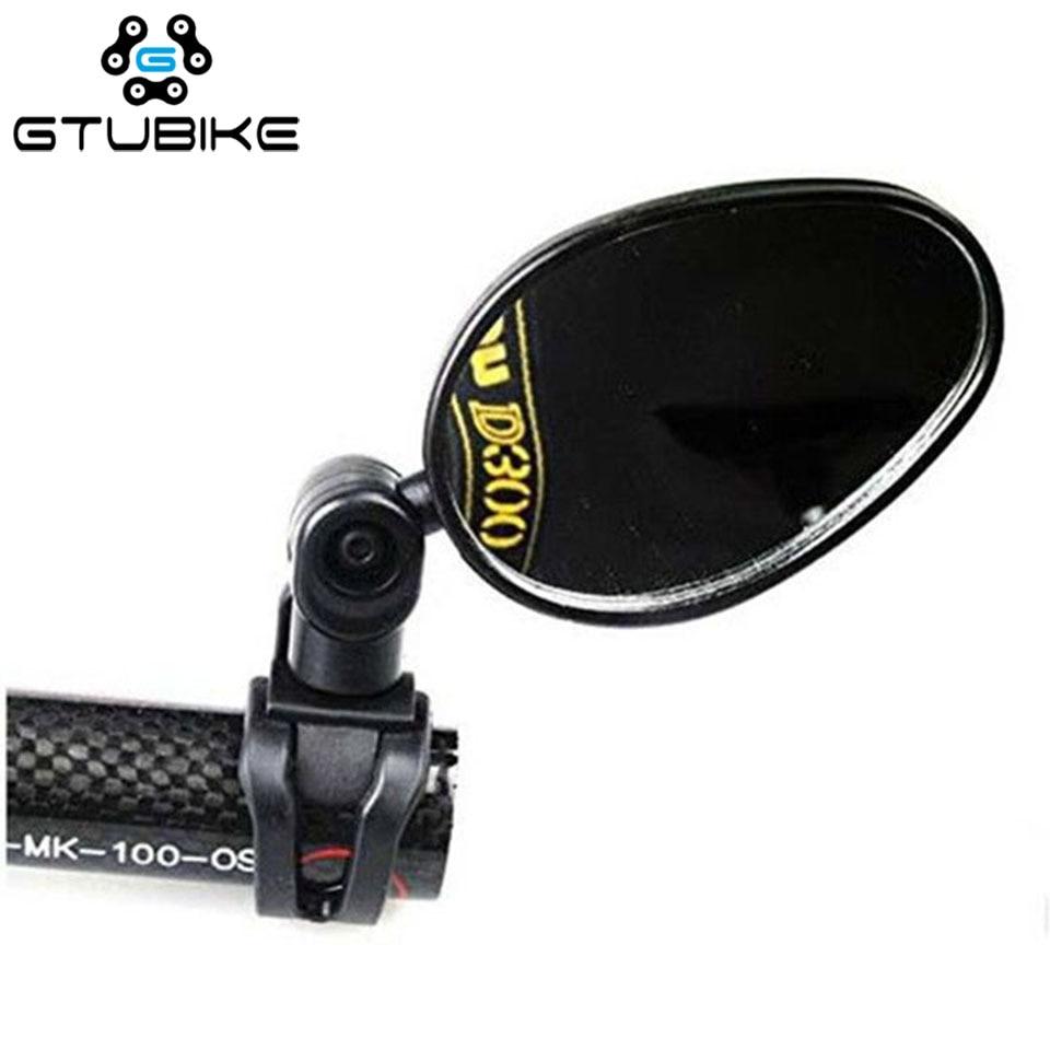 360 درجة تدوير دراجة مرآة خلفية زاوية واسعة المقود مرآة الرؤية الخلفية للدراجات الجبلية دراجة الدراجات اكسسوارات