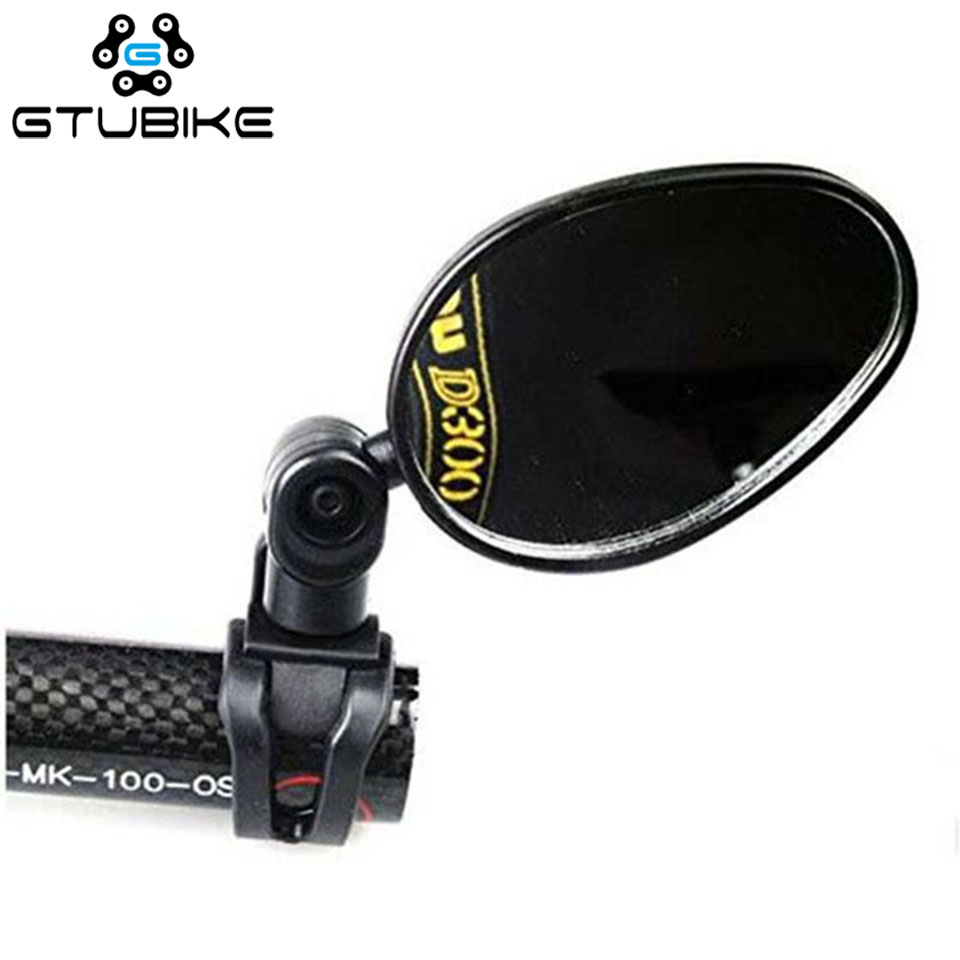 360 Degree Rotate Bicycle Rear Mirror Wide Angle Handlebar Rearview Mirror For Bike MTB Bicycle Cycling Accessories
