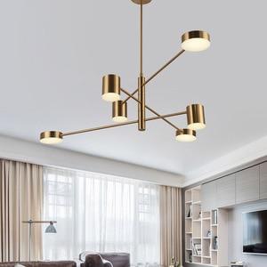 Image 1 - Ресторанные потолочные светильники, лампа для гостиной, спальни, столовой, кухни, осветительные приборы, светодиодный потолочный светильник в скандинавском стиле