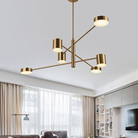 black gold modern led ceiling lights living room bedroom lamp lamparas de techo fixtures luminaire ceiling lamp
