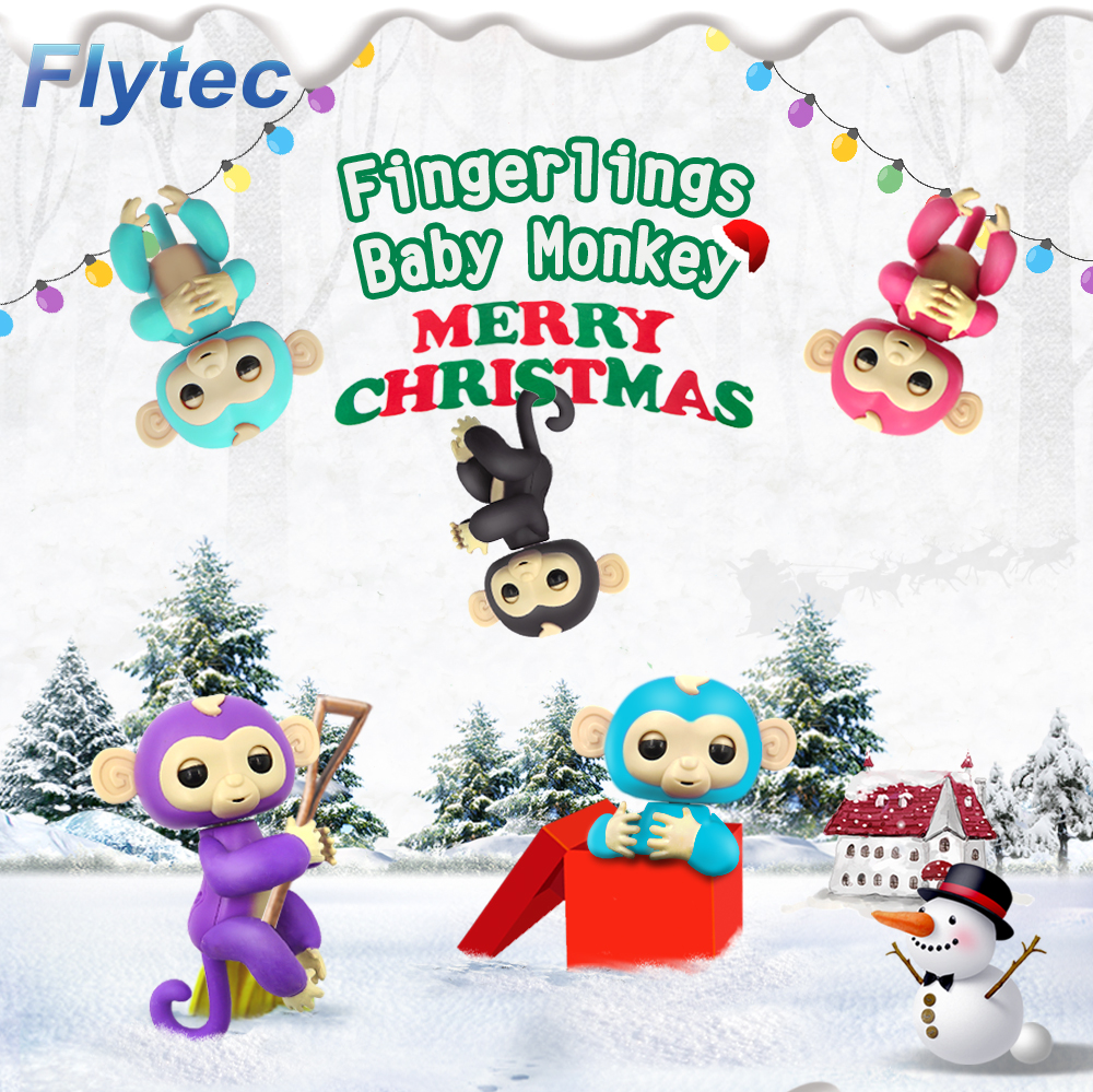 Flytec Cheap Electric Finger Monkey Educational Interactive Toys Best Study Companion For Kids