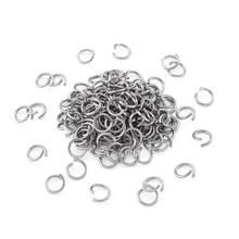 1000 Uds 4/5/6/7/8/9/10mm 304 anillos de salto de acero inoxidable anillos de salto abiertos hallazgos de joyería de Metal accesorios DIY haciendo suministros