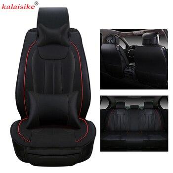 kalaisike leather Universal Car Seat Covers for mazda Volkswagen VW Toyota Nissan BMW Suzuki Benz Honda Mitsubishi car styling