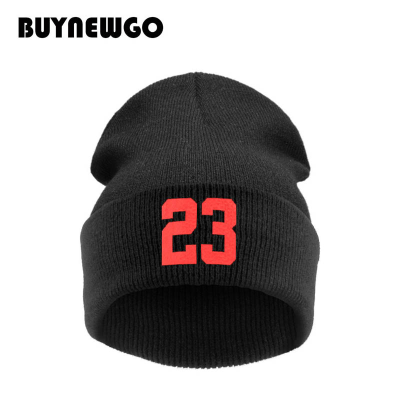 Winter Hat Pullover-Cap Knit-Hat Hip-Hop-Wool-Cap 23 Beanie High-Quality New And American