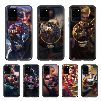 LOL League Joint Legends Game Phone Case cover hull For SamSung Galaxy S 6 7 8 9 10 20 Plus Edge E 5G Lite Ultra black back image