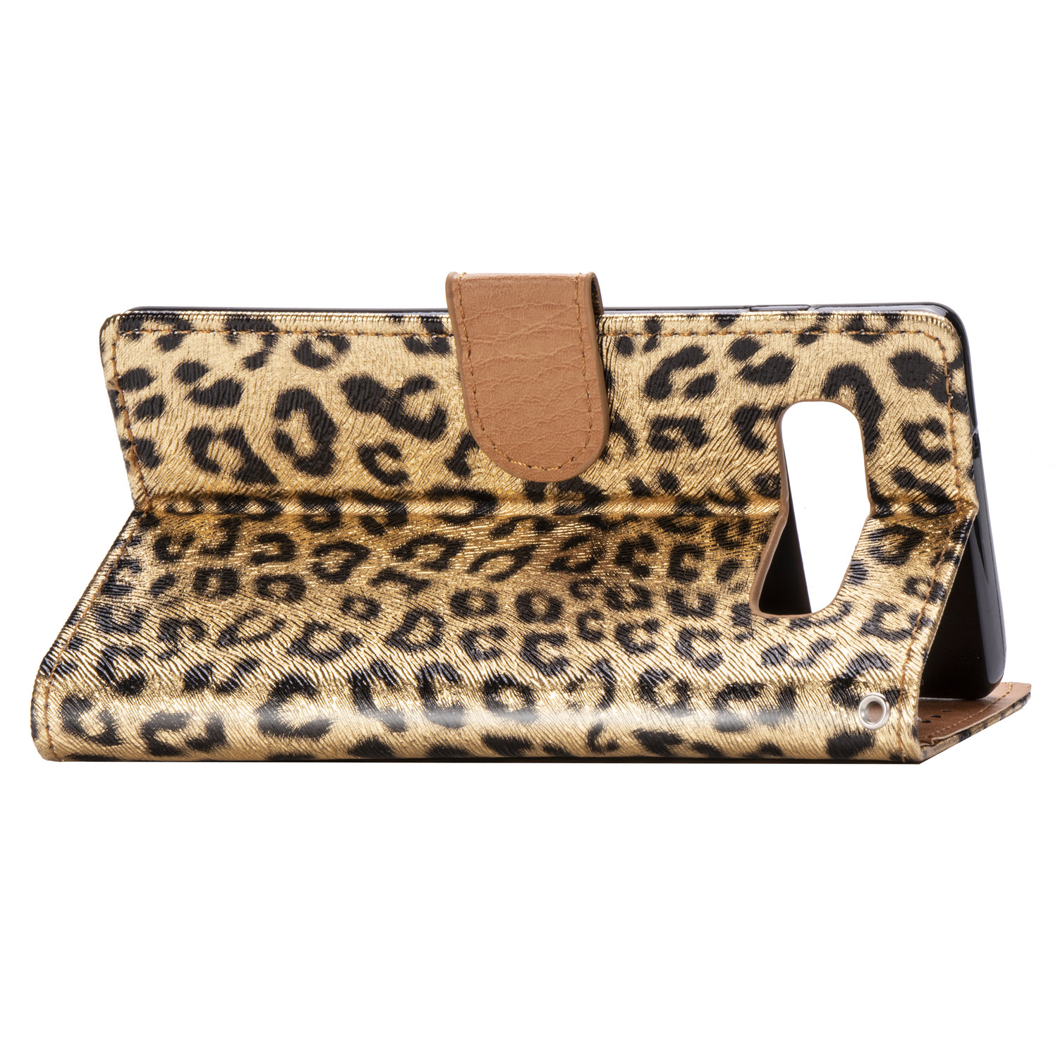 For Samsung Galaxy S10 S8 Plus S10E Glitter Leopard Leather Fur Wallet Flip Book Case Fold Cover On For Galaxy Note 9 8 Funda