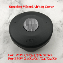 Car Steering Wheel Horn SRS Cover For BMW F20/F22/F45/F30/F32/F10/F12/F48/F39/F25/F26/F16 Auto Accessories Steering Wheel