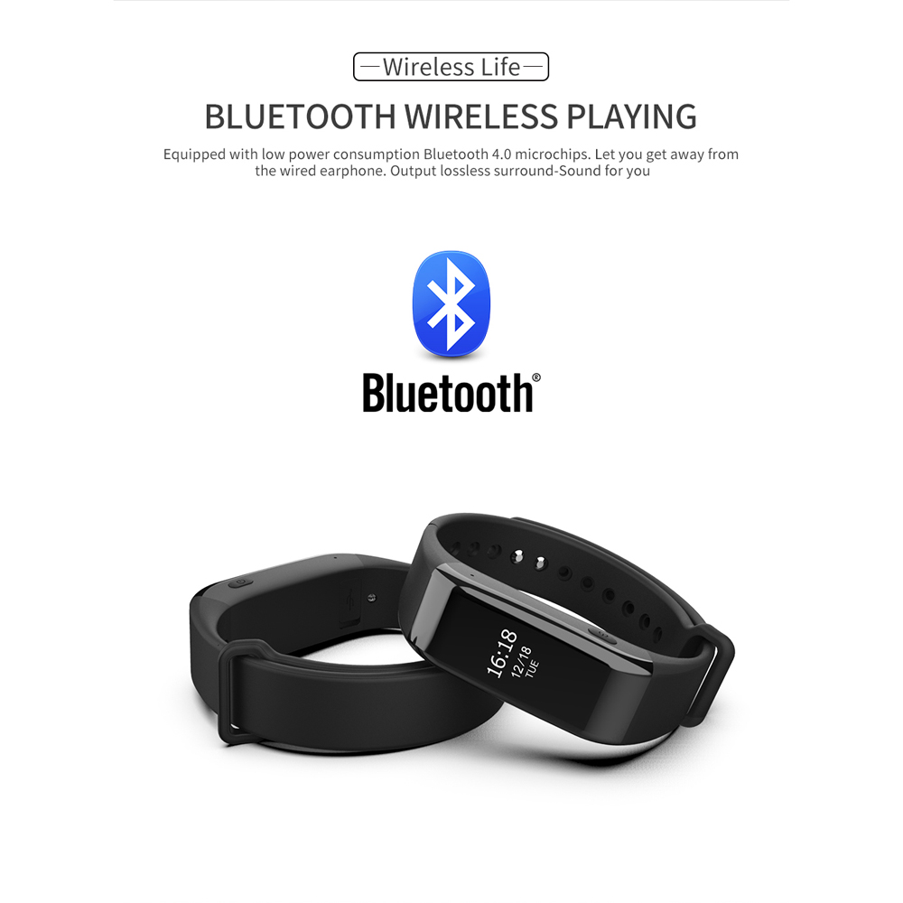 Watch Voice Recorder Bluetooth MP3 Player Wristband Hi-Fi Noise Reduction Recorder Mini Audio Recorder T